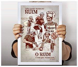 Poster Trabalhador