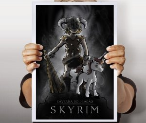 Poster Skyrim