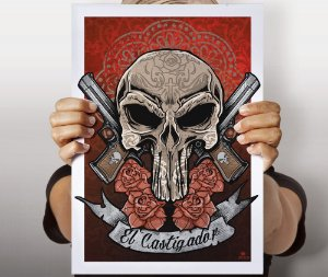 Poster El Castigador