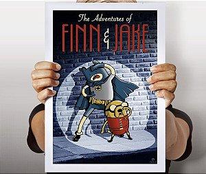 Poster Finn e Jake