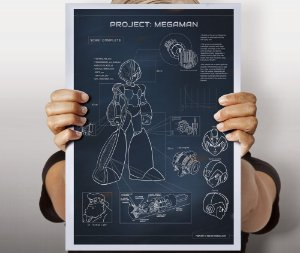 Poster Project: Megaman
