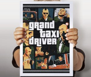 Poster Grand Taxi Driver