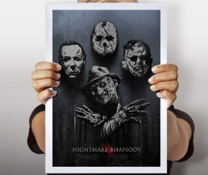 Poster Nightmare Rhapsody