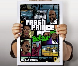 Poster GTA Bel-Air