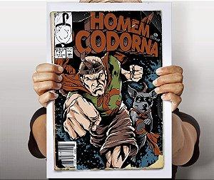 Poster Homem Codorna