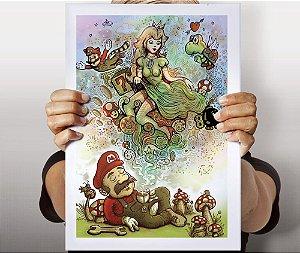 Poster Mario's World