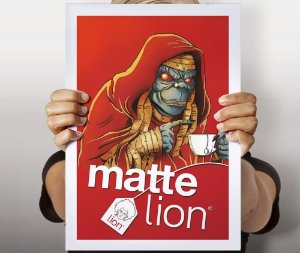 Poster Matte Lion