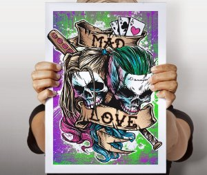 Poster Mad Love