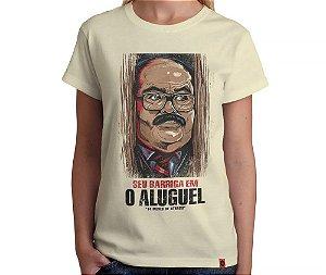 Camiseta O Aluguel - Feminina