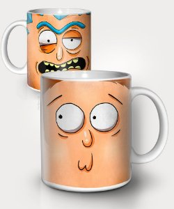 Caneca Rick and Morty