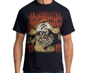 Camiseta Palhaço Mortal - Masculina