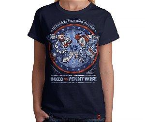 Camiseta Bozo x Pennywise - Feminina
