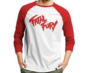 Manga Longa Fatal Fury - Masculina