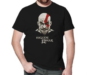 Camiseta Bigode of War