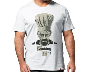 Camiseta Cooking Time