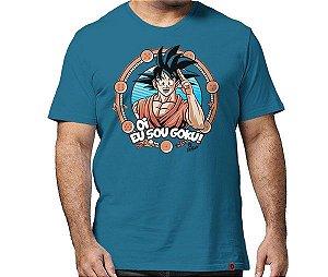 Camiseta Eu Sou Goku