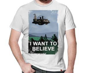 Camiseta I Want To Believe