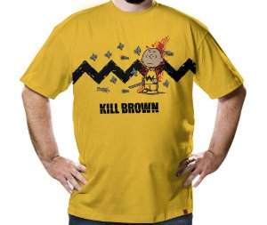 Camiseta Kill Brown