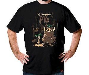 Camiseta Meu Vizinho Porco