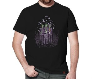 Camiseta Palhaços do Crime