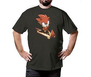 Camiseta Raio Vermelho