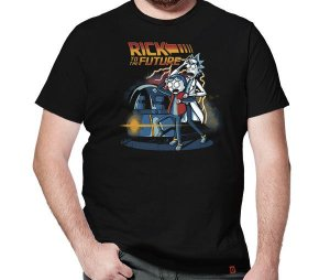Camiseta Rick To The Future