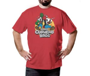 Camiseta Super Cuphead Bros