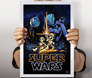 Poster Super Wars