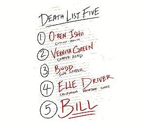 Arte Death List Five