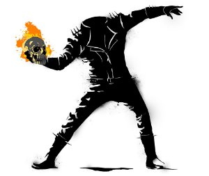 Arte Ghost Rider
