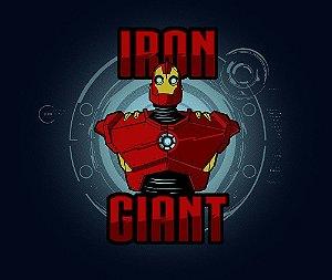 Arte Iron Giant