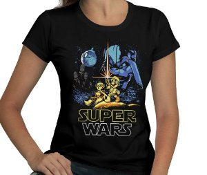 Camiseta Super Wars