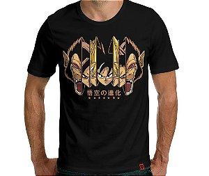 Camiseta Fases Sayajin