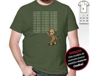 Camiseta I Am Groot
