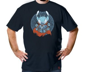 Camiseta Lótus Stitch