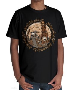 Camiseta Aventura em Mordor