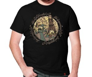 Camiseta Rick Em Mordor