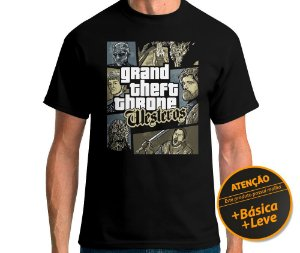 Camiseta Grand Theft Throne