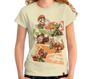 Camiseta N64 Classics