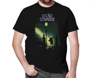 Camiseta O Cão Covarde