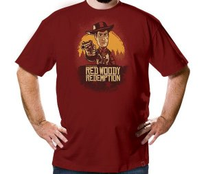 Camiseta Red Woody Redemption