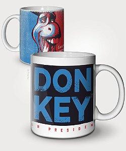 Caneca Donkey For President