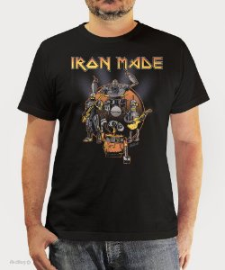 Camiseta Iron Made