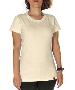 Camiseta Básica Creme