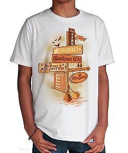 Camiseta Mundo dos Quadrinhos