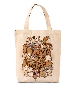 Ecobag I Love Dogs