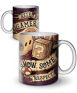 Caneca Retro Gamer