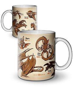 Caneca Dragon's Bestiary