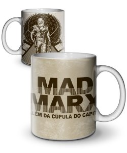 Caneca Mad Marx