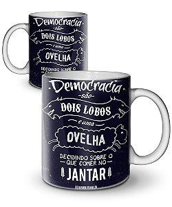 Caneca Democracia